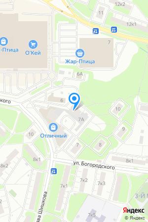 Дом 7 корп.1 по ул. Богородского, ЖК Нагорный на Яндекс.Картах