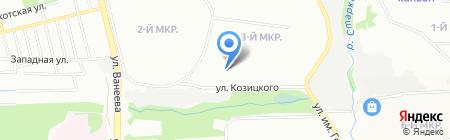 Гера на карте Нижнего Новгорода