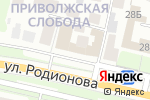Схема проезда до компании Группа Станки в Нижнем Новгороде