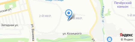 Детский сад №49 Светлячок на карте Нижнего Новгорода