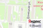 Схема проезда до компании Золотая линия в Нижнем Новгороде