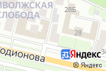 Схема проезда до компании Бусинка в Нижнем Новгороде