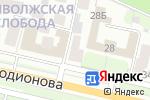 Схема проезда до компании Спикинг Плэнет в Нижнем Новгороде