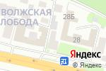 Схема проезда до компании Галерея камня в Нижнем Новгороде