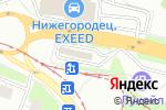 Схема проезда до компании Новая в Нижнем Новгороде