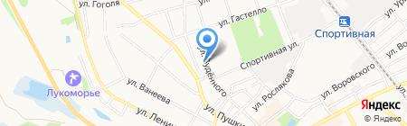 Государственная инспекция по надзору за техническим состоянием самоходных машин и других видов техники Нижегородской области на карте Бора