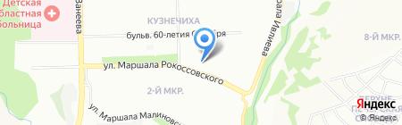 Молочная кухня на карте Нижнего Новгорода