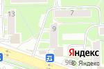 Схема проезда до компании АКБ САРОВБИЗНЕСБАНК в Нижнем Новгороде