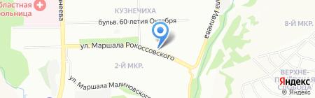 Визит на карте Нижнего Новгорода
