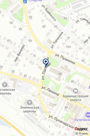 АГЕНТСТВО В Г. БОР на карте Бора
