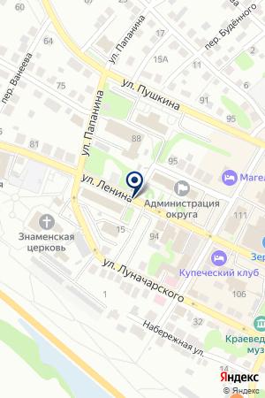 БОРСКАЯ АССОЦИАЦИЯ ТОВАРОПРОИЗВОДИТЕЛЕЙ на карте Бора