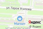 Схема проезда до компании Тандем в Нижнем Новгороде