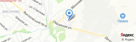 Партнер-Электро на карте Нижнего Новгорода