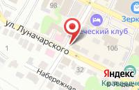 Схема проезда до компании Нотариус Кудрявцева И.В. в Боре