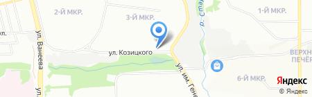 Самобранка на карте Нижнего Новгорода