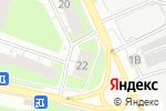 Схема проезда до компании Южуралаккумулятор в Нижнем Новгороде