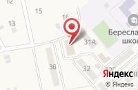 Схема проезда до компании ШиК в Береславке