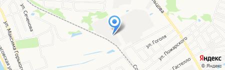 Волгогаз на карте Бора