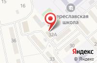 Схема проезда до компании Почта Банк в Береславке