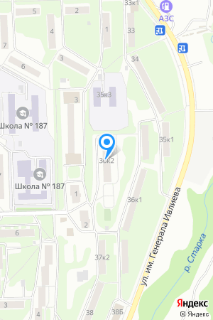 Дом 36 корп.2 по ул. Ивлиева на Яндекс.Картах