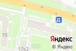 Схема проезда до компании Космедэль в Нижнем Новгороде