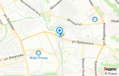 Местоположение на карте пункта техосмотра по адресу г Нижний Новгород, ул Надежды Сусловой, д 25