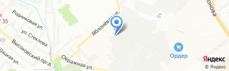 Delphi на карте Нижнего Новгорода