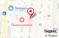 Схема проезда до компании Новорогачинская участковая больница в Новом Рогачике