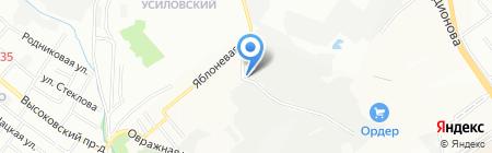 Компрессор-НН на карте Нижнего Новгорода