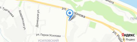 Маэстро на карте Нижнего Новгорода