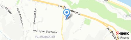 Автоцентр на карте Нижнего Новгорода