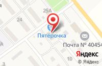 Схема проезда до компании Магазин товаров для праздника в Береславке