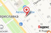 Схема проезда до компании Поволжский банк Сбербанка России в Береславке