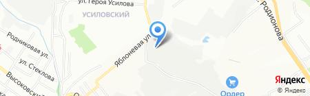 Автоцвет на карте Нижнего Новгорода