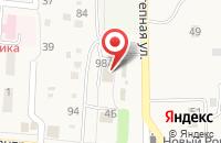 Схема проезда до компании Магнит в Новом Рогачике