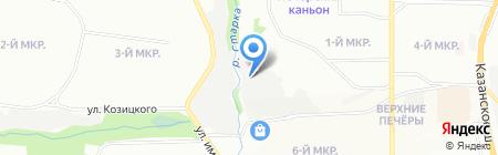Барс-СТО на карте Нижнего Новгорода