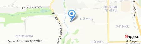 ДВЕРИ ЭЛЕГАНТ на карте Нижнего Новгорода