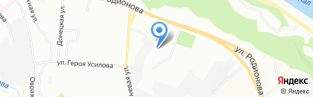 TRW на карте Нижнего Новгорода