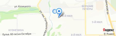 Магазин-мастерская на ул. Композитора Касьянова на карте Нижнего Новгорода