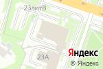 Схема проезда до компании Coffee Molly в Нижнем Новгороде