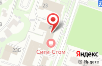 Схема проезда до компании Св-Холдинг в Нижнем Новгороде