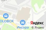 Схема проезда до компании Раден-Строй в Нижнем Новгороде