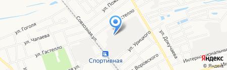 Атриум-ПК на карте Бора
