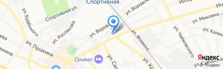 Борский почтамт на карте Бора