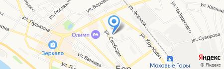 Детский сад №7 на карте Бора