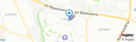 Школа им. С.В. Михалкова на карте Нижнего Новгорода