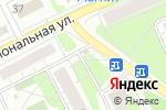 Схема проезда до компании Магазин одежды на ул. Крупской в Боре