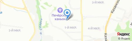 Детский сад №459 на карте Нижнего Новгорода