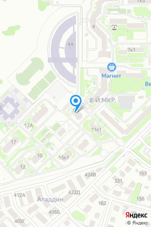 Дом 8 по ул. Нижне-Печёрская на Яндекс.Картах