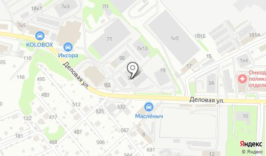 ННК Холдинг. Схема проезда в Нижнем Новгороде